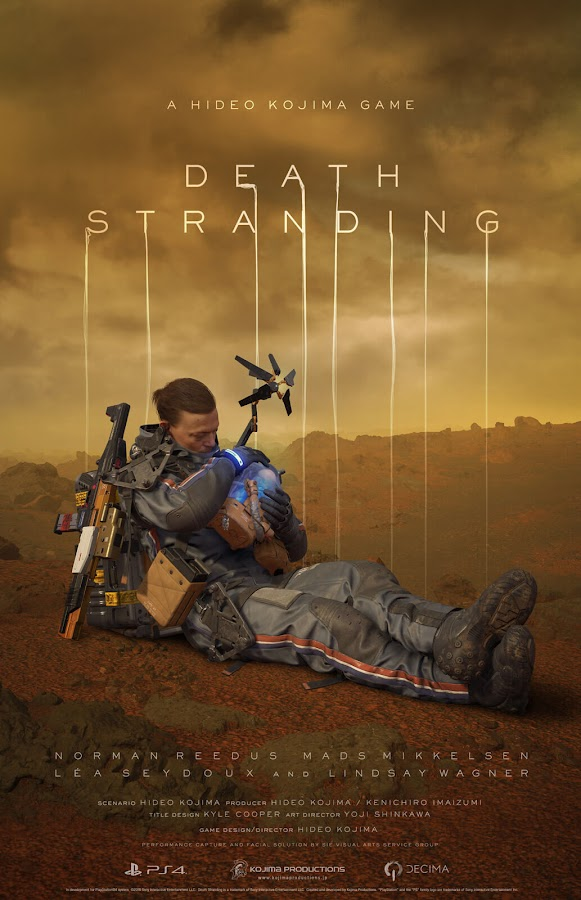 death stranding sam porter bridges poster