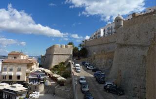 Vistas de Peñíscola desde el Paseo de Ronda.