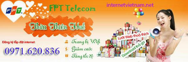 Lắp Đặt Internet FPT Phường An Tây, Tp Huế Giá Sốc