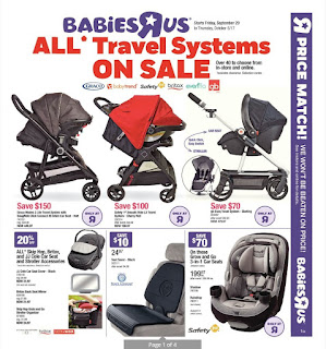 Babies R Us Flyer Weekly Valid September 29 - October 5, 2017