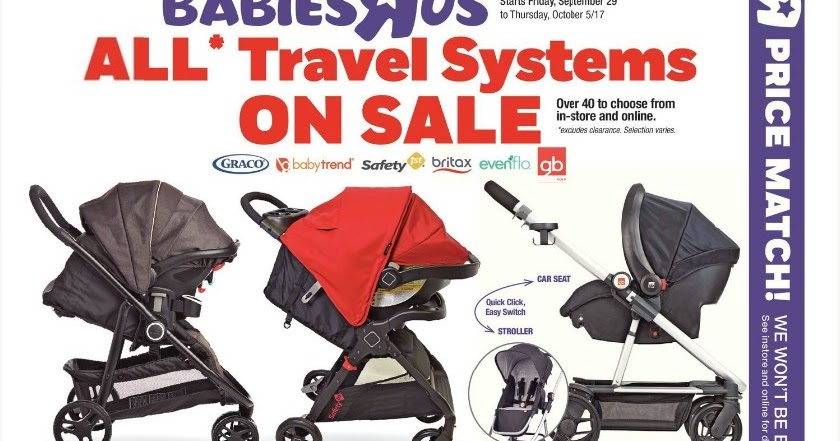 Babies R Us Flyer Weekly Valid September 29 October 5 2017