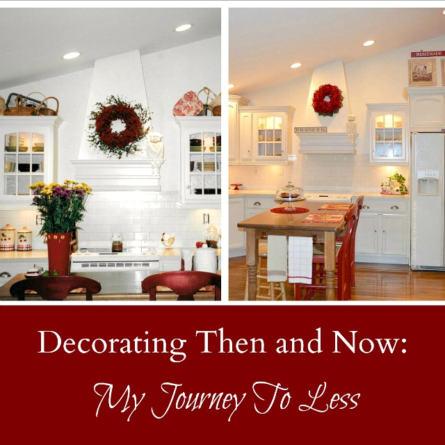 How to decorate with less
