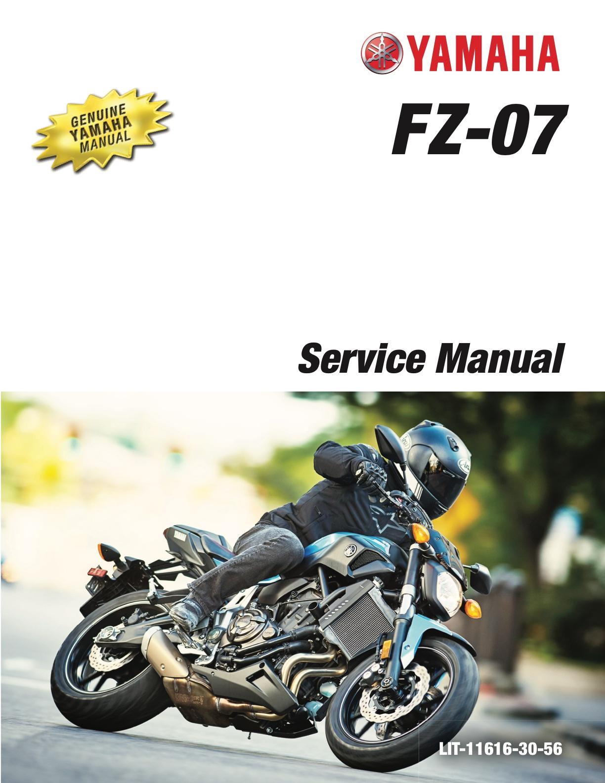 yamaha fz07 abs mt07 abs 2017 workshop repair service manual rh yamaha manuals cc 2006 Yamaha G22E Service Manual 2006 Yamaha G22E Service Manual