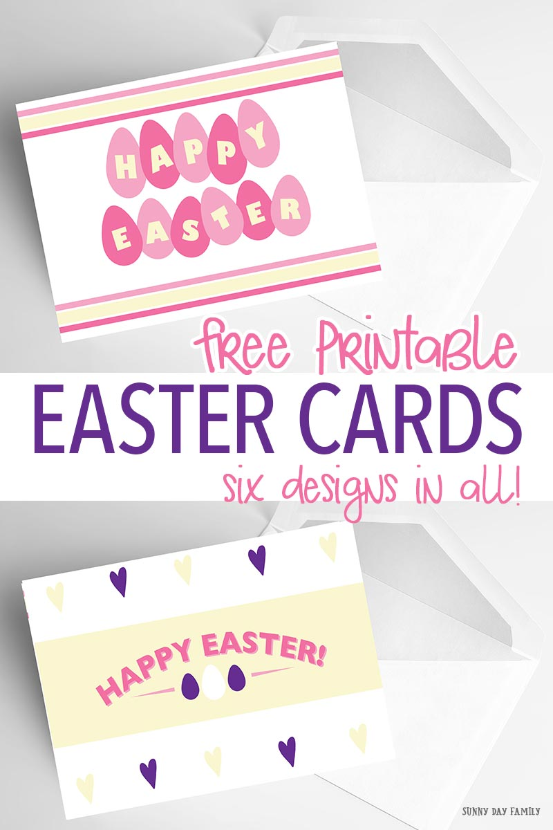 Love these cute Easter cards - perfect for anyone on your list! Six designs in all and they are totally adorable. Perfect for Easter baskets, thank you notes, or fun Easter greetings. Or frame them for easy Easter decorations!