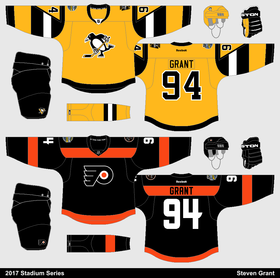 +I instantly like these designs better than the actual Stadium Series  jerseys 7f51bd9f43d