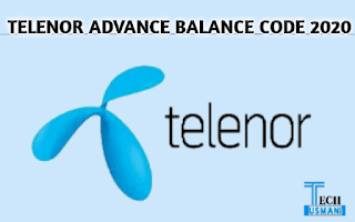 Telenor Advance Balance Code 2020