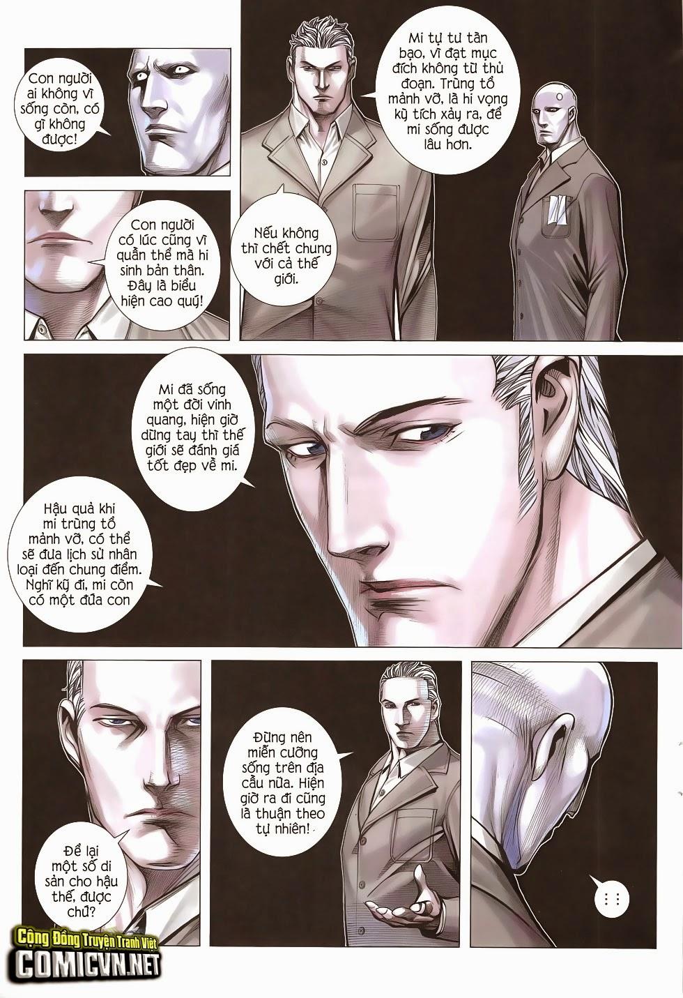 Đại Quân Phiệt chap 51: trận cuối của đại tổng thống trang 23
