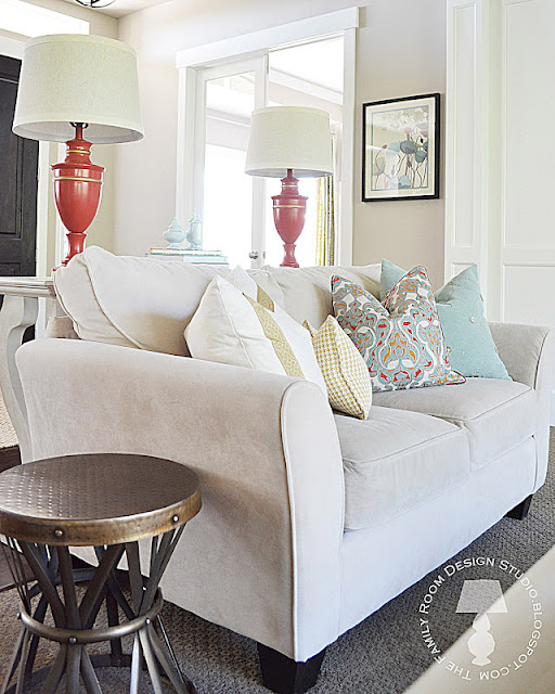 Sita Montgomery Interiors: My New Home Tour: Family Room