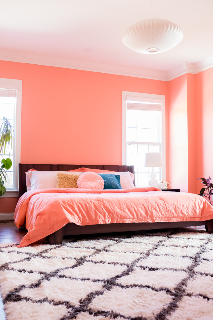 Design Addict Mom A Bedroom Update With Pantone S Color Of The Year