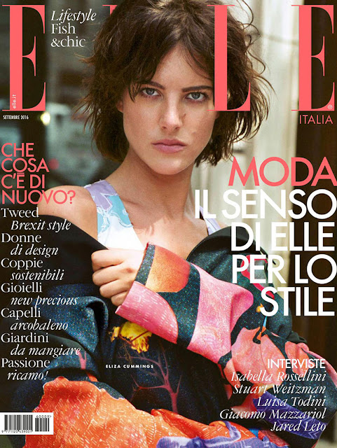 Fashion Model, @ Eliza Cummings - ELLE Italy September 2016