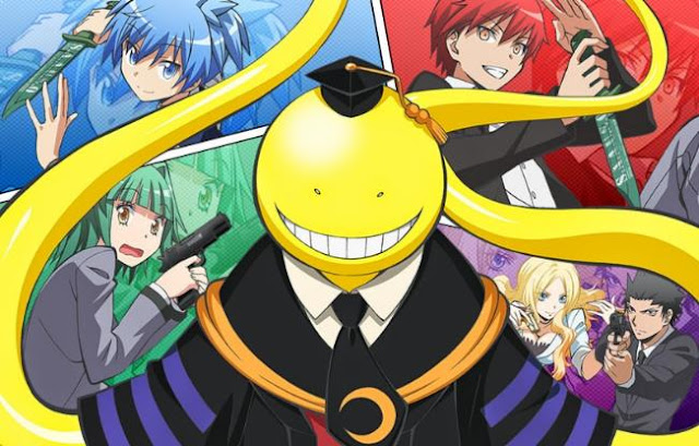 15 Anime Mirip Ansatsu Kyouhitsu ( Assasination Classroom )
