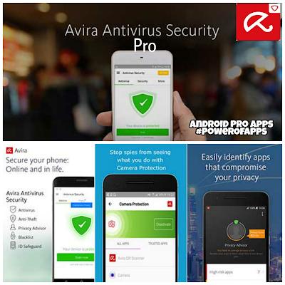 تحميل تطبيق الحمايه من الفيروسات Avira Antivirus Security Pro