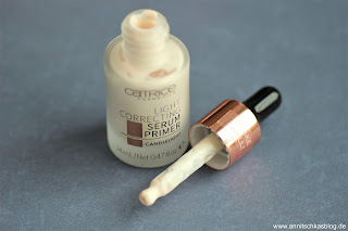 Review: 9 Bloggers Favourites von CATRICE - Light Correcting Serum Primer - www.annitschkasblog.de