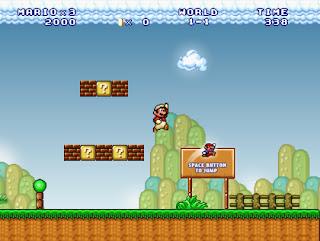 لعبة Super Mario forever لعبة المغامرات الرائعة بمساحة 18 ميجا