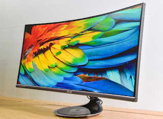 ASUS Designo Curve MX34VQ Announced; Ultra-Wide Screen with UWQHD Resolution