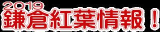 2019鎌倉紅葉情報!