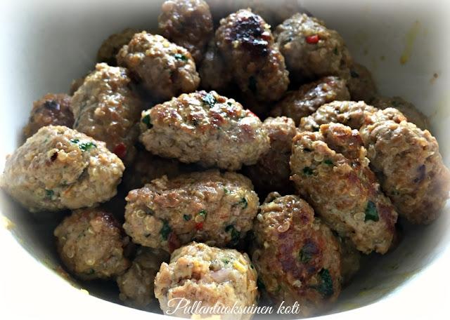 #pullantuoksuinenkoti #lihapulla #lihapyörykkä #meatball #frikadel #indianfood #food #recipe
