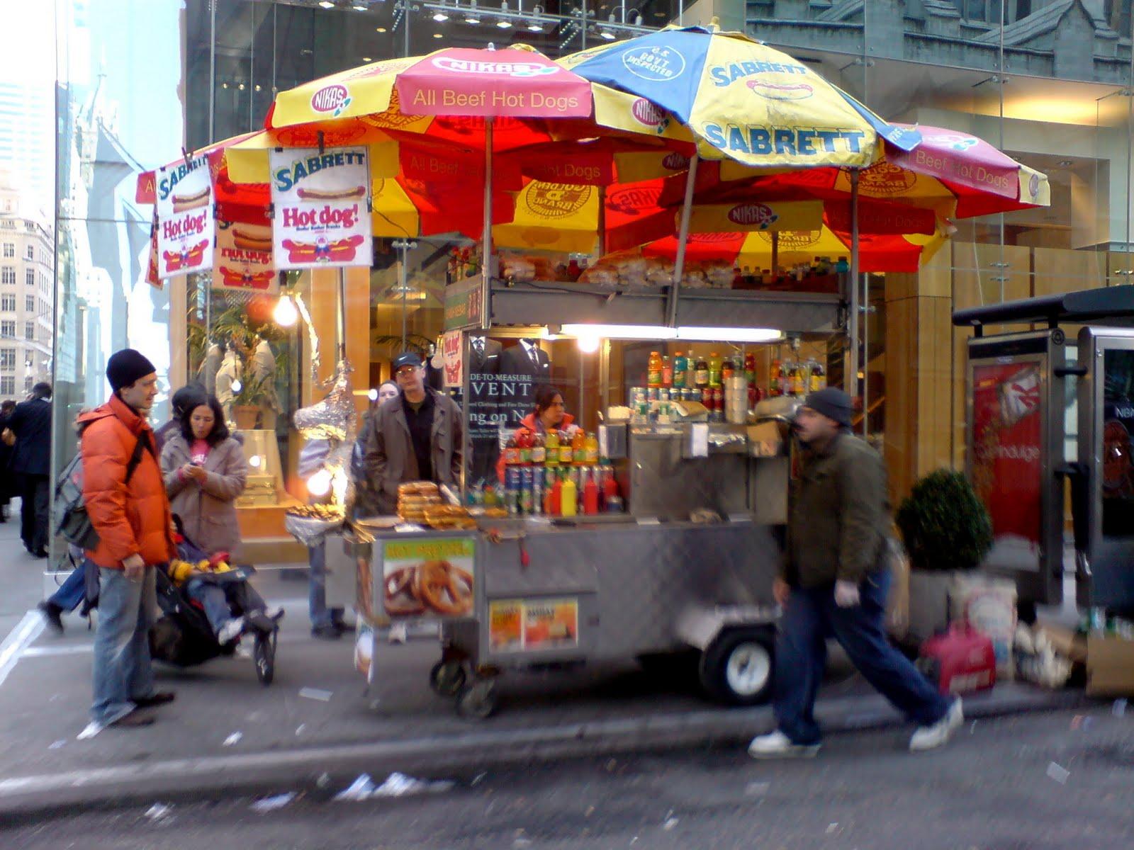 Hot dogs y comida callejera en new york el blog de viajes y estudios - Callejero manhattan ...