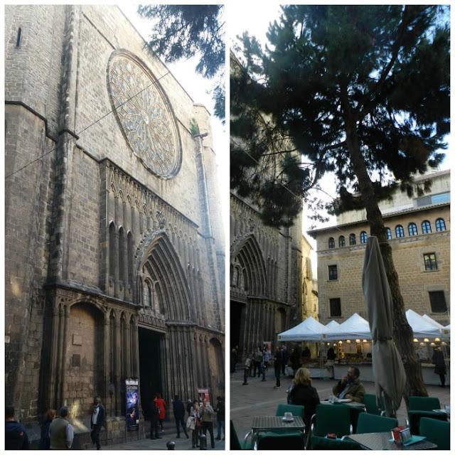 Free Walking Tour em Barcelona - Santa Maria del Pi