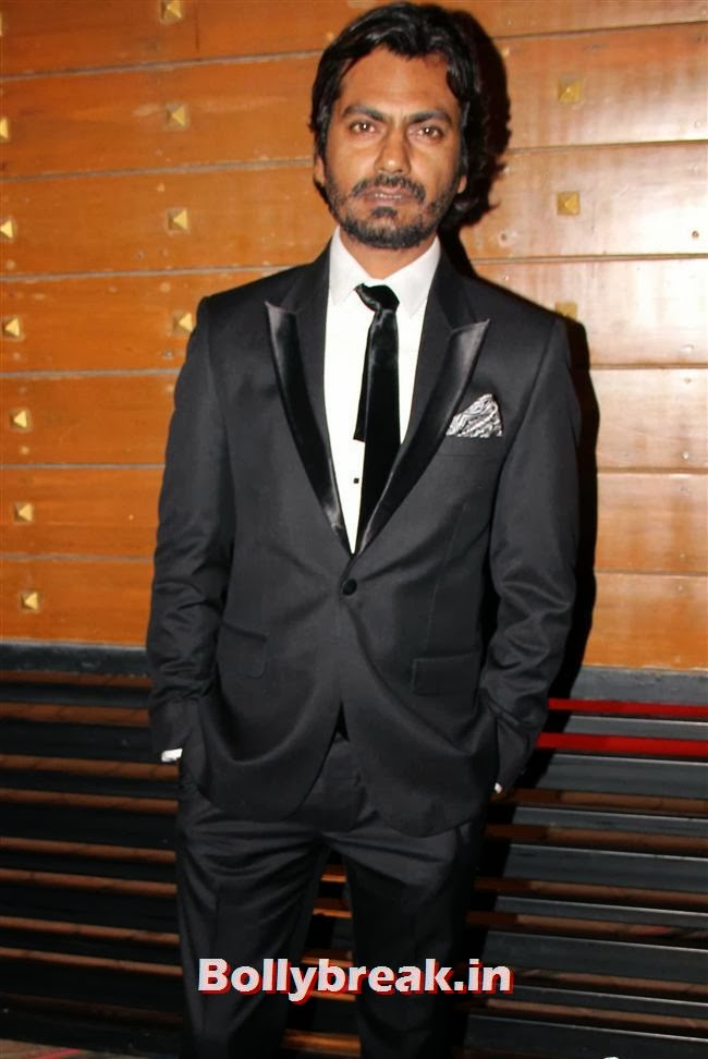 Nawazuddin Siddiqui, Filmfare Awards 2014 Red carpet Images
