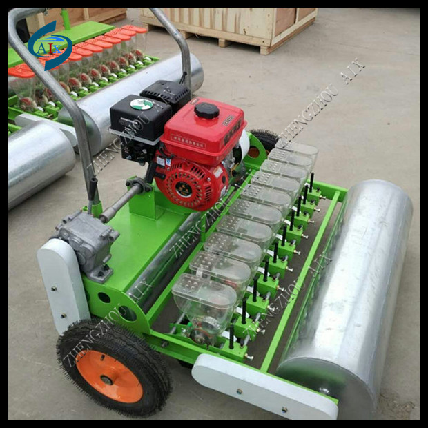 Zhengzhou Aix Machinery Hand Push Gasoline Engine 10 Row Vegetable
