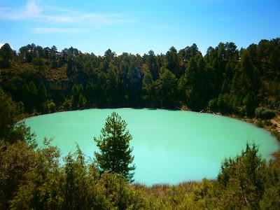 Laguna de la Gitana o de la Cruz durante el fenómeno blanco. Autor: Miguel Alejandro Castillo Moya