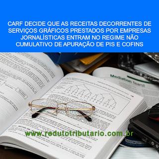 RECEITAS COM SERVIÇOS GRÁFICOS PRESTADOR POR JORNAIS