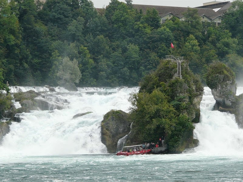 The Rhine Falls, Switzerland |  The largest plain waterfall in Europe