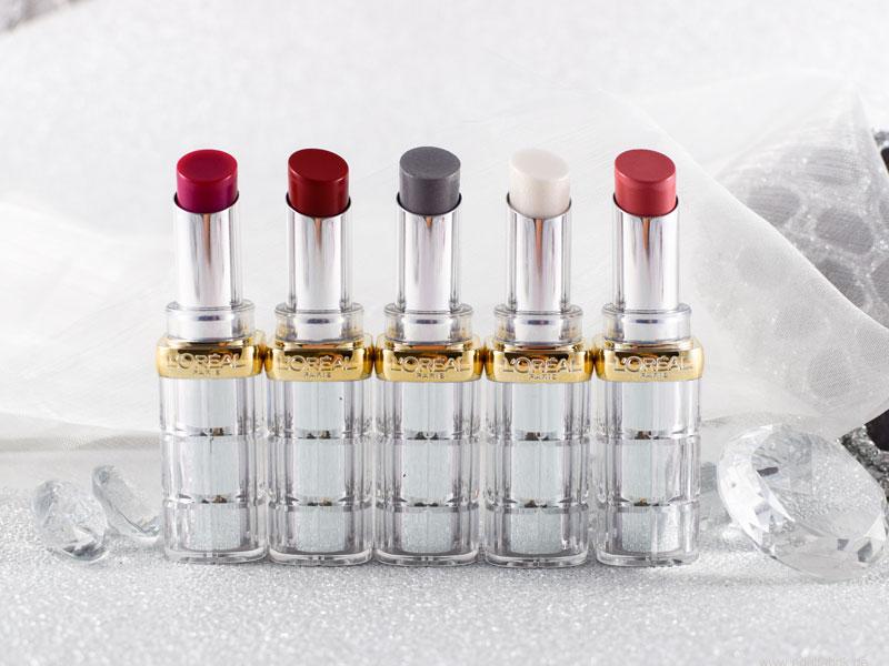 wie gut sind die neuen L'Oréal Paris Color Riche Shine Lippenstifte