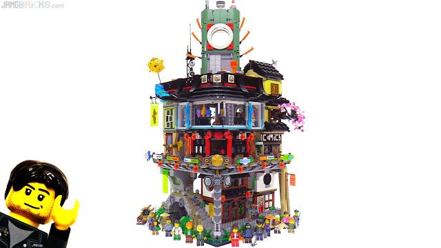 Time Lapse Lego Ninjago City Build 70620 – Fondos de Pantalla