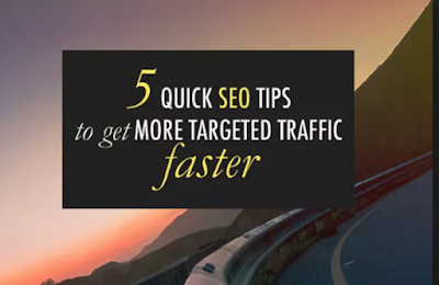 5 Tips To Get More Traffic