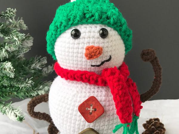 Snowman Amigurumi Crochet Pattern - Part 3