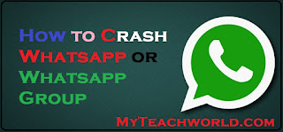 whatsapp hang trick,  whatsapp crash,  whatsapp hang message 2018,  whatsapp crash message