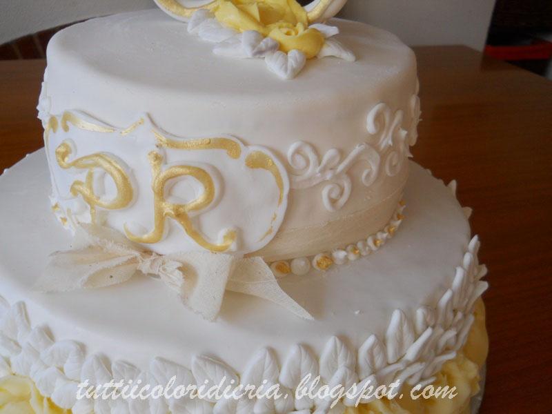 Famoso Tutti i colori di CriA: Cake per 50 anni di matrimonio WX54