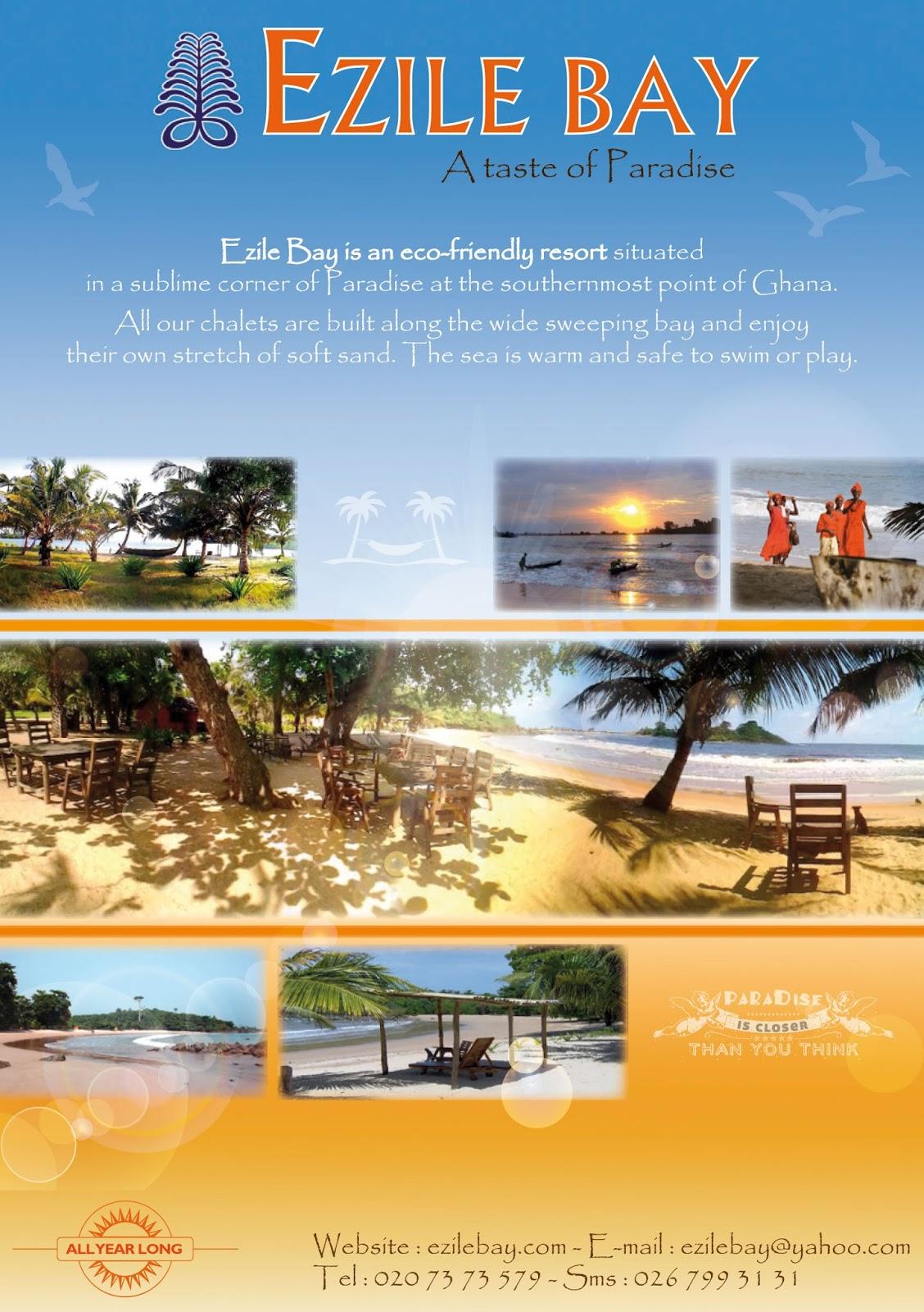 Ghana : ID Card   Ghana : Entre Busua Inn et Ezile Bay Village