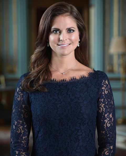 Swedish Princess Madeleine and Mr. Christopher O'Neill on their engagement
