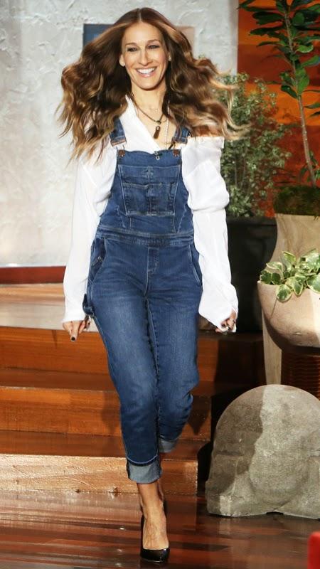 Sarah Jessica Parker overalls