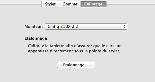 étalonnage écran windows 8