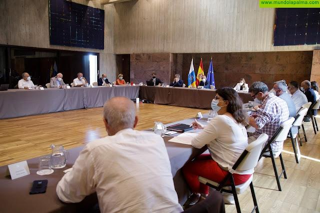 El Plan de Reactivación de Canarias recibe respaldo unánime de los firmantes para disponer de un documento definitivo en septiembre