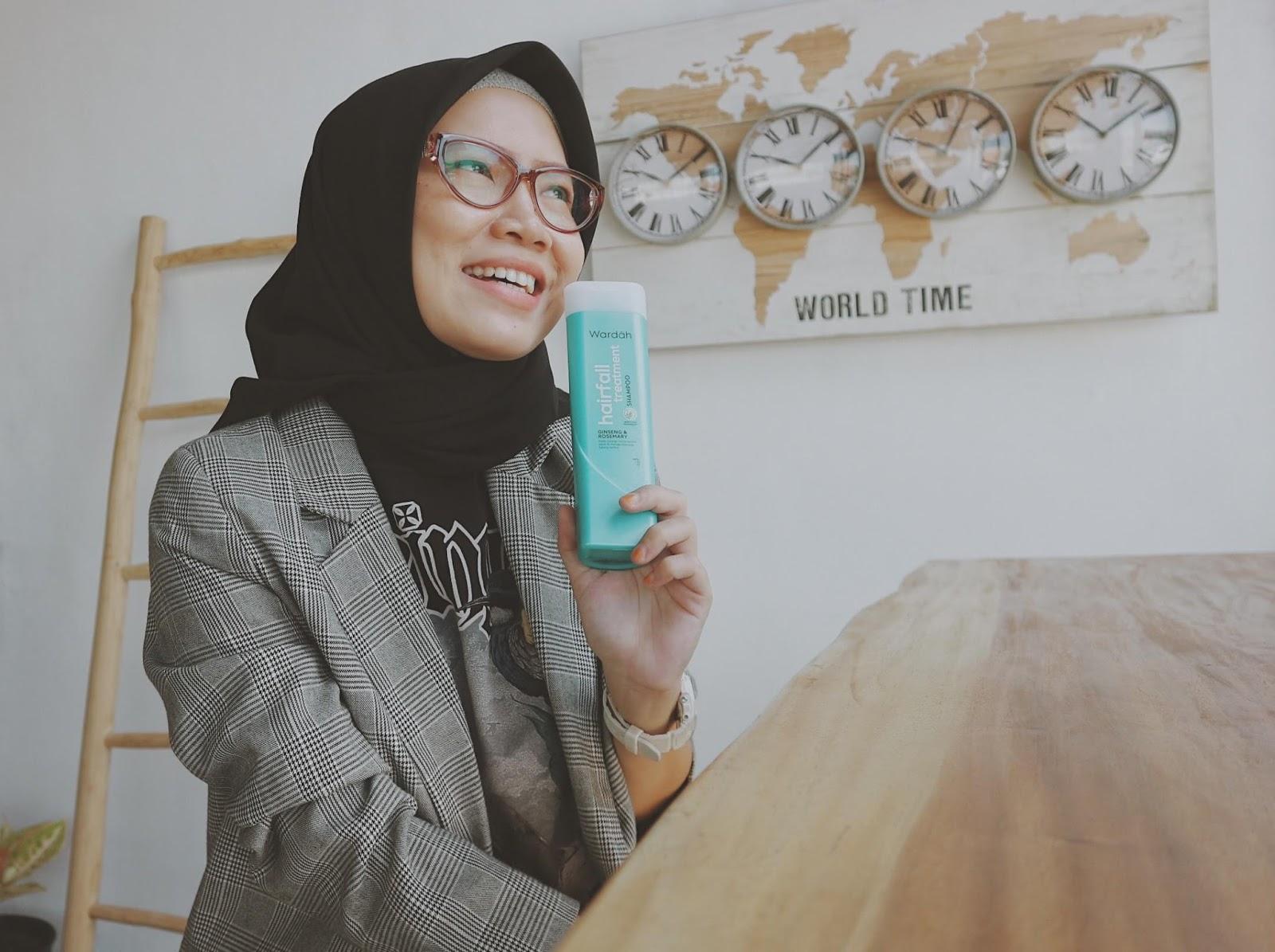 Wardah Shampoo Hairfall Treatment