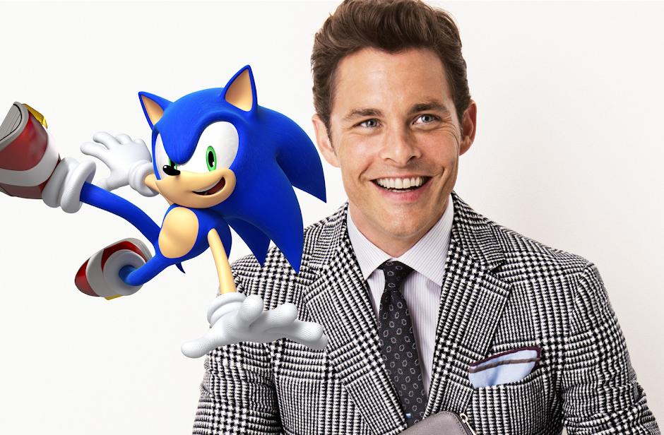"James Marsden vai estrelar filme de ""Sonic o Ouriço"""