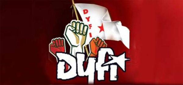 Kerala, News, Kasargod, Kumbala, DYFI, Fish trading, Complaint, Action, DYFI against Fish trading in Road side.
