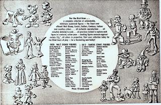 0812; 0829; Cuttings; Disney; Disney Film; Ephemera; Famous Comic Figures; Marx Army Men; Marx Disney; Marx Figures; Marx Put Together Figures; Marx Toy Soldiers; Marx Toys; Plastic Figure; Plastic Figurine; Plastic Figurines; Plastic Toy Figures; Plastic Toys; Small Scale World; smallscaleworld.blogspot.com; T152; T154; Walt Disney Figures;