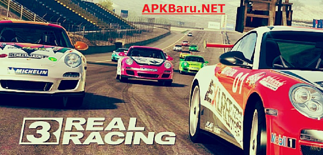 Real Racing 3 V5.4.0 APK Data Terbaru Full Mod Money+Unlocked Cars