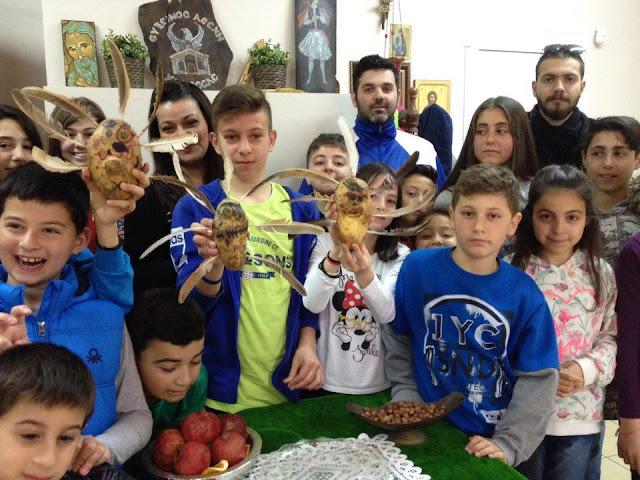 Το έθιμο του Κουκαρά αναβίωσαν τα παιδιά της Ευξείνου Λέσχη Χαρίεσσας