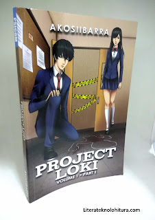 project loki vol 1 part 1 front cover art