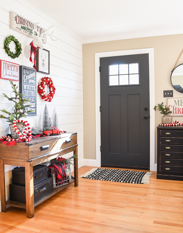 Christmas decor, holiday, gallery wall, Christmas, Christmas gallery wall, kirklands