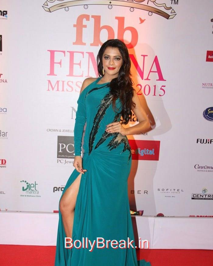 Asha Bhat, Grand Finale of Femina Miss India 2015 Photo Gallery