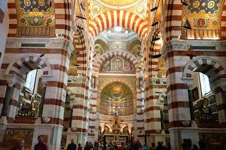 Interior de Notre-Dame de la Garde.