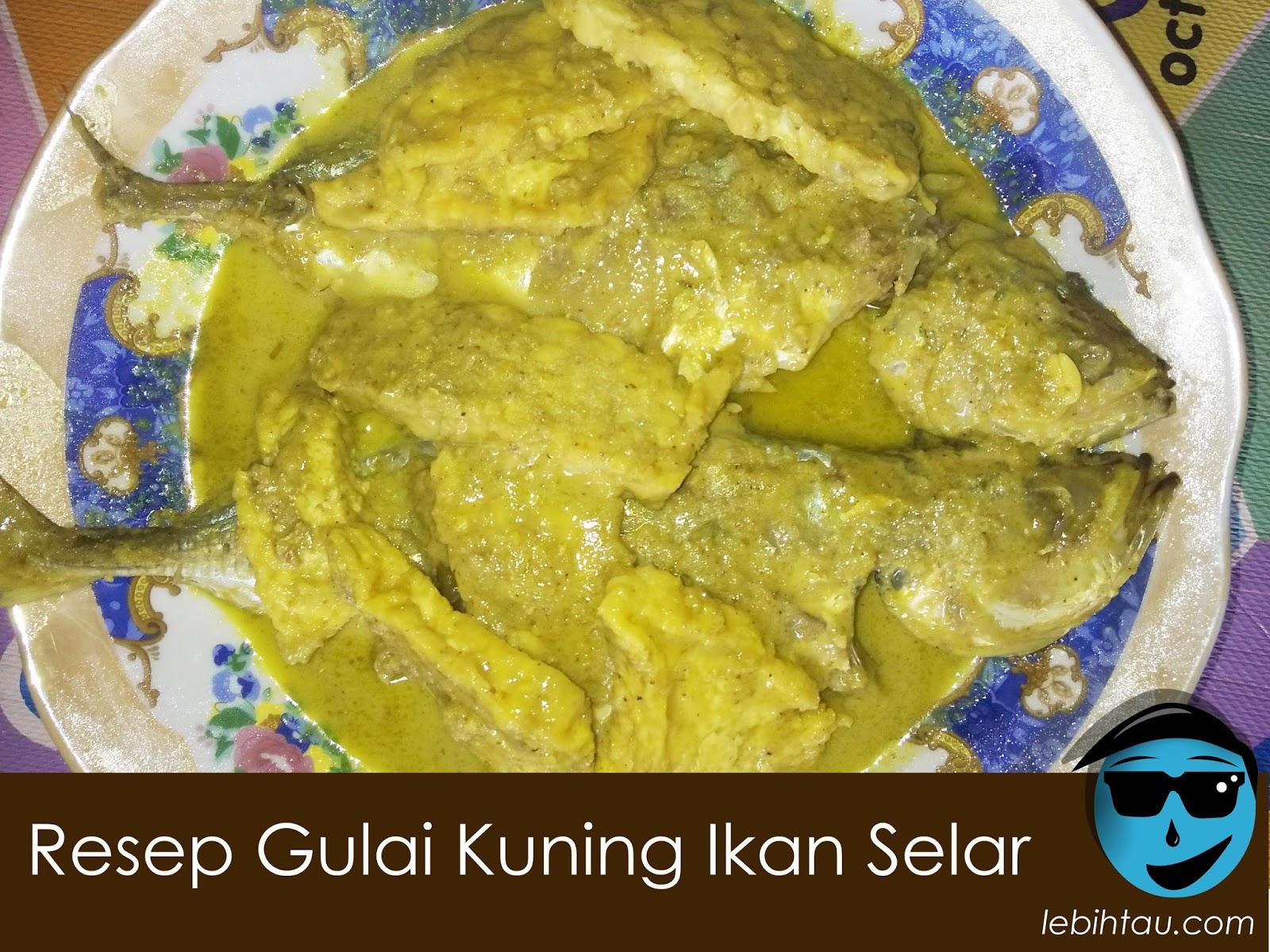 Resep Gulai Ikan